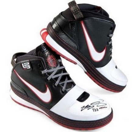 Limited to 23 8211 Signed by LBJ 8211 ZL6s From Upper Deck