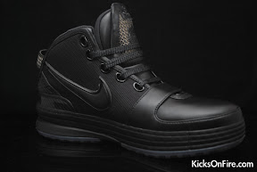nike zoom lebron 6 gr black anthracite 9 05 General Release Zoom LeBron VIs   Black   Navy   New Photos