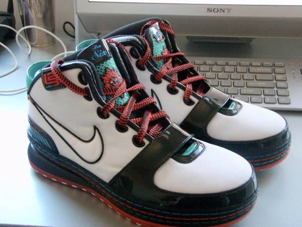 Indepth Look at the Latest Zoom LeBron 6 8211 Miami Exclusive