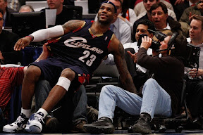 lebron james nba 090204 cle at nyc 07 Not Kobe. Not Jordan. LeBron Does Things Own Way with a 50 point Triple Double!