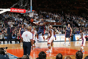 lebron james nba 090204 cle at nyc 15 Not Kobe. Not Jordan. LeBron Does Things Own Way with a 50 point Triple Double!