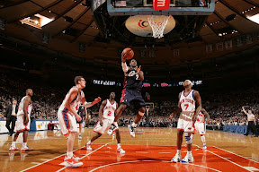 lebron james nba 090204 cle at nyc 21 Not Kobe. Not Jordan. LeBron Does Things Own Way with a 50 point Triple Double!