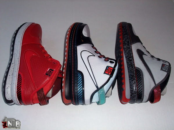 8220Tale of 3 Cities8221 8211 Zoom LeBron VI City Pack Group Pictures