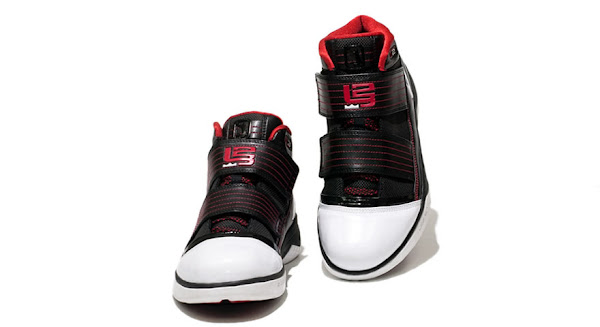 Initial Look at the Black White Red Nike Zoom Soldier 3
