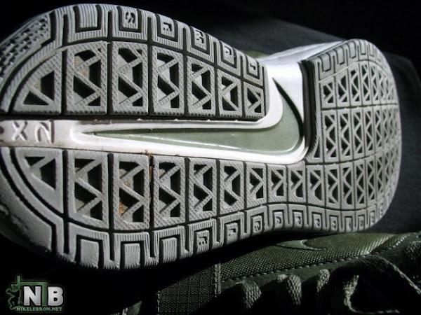 Nike Zoom LeBron 6 Low WhiteArmy Green LookandSee Sample