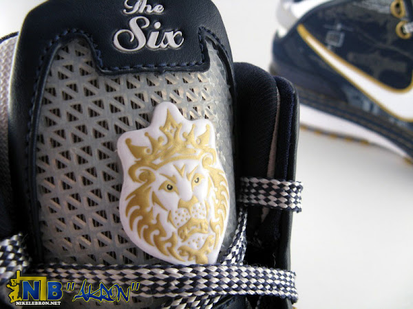 Akron Nike Zoom LeBron VI Personalized for AU Zips Showcase