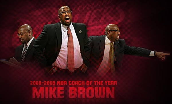 Mike Brown Wins NBA8217s 200809 Coach of the Year Award