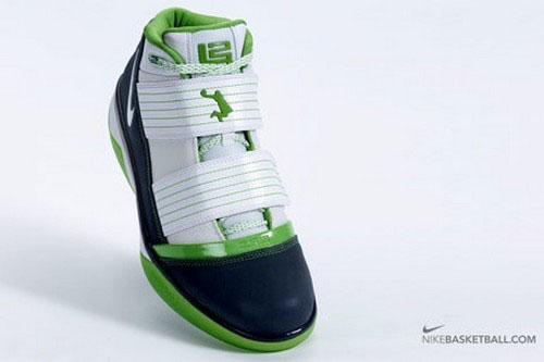The Use of the Word DUNKMAN Nike Zoom Soldier III Mean Green