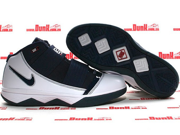 White Midnight Navy Nike Zoom Soldier 3 Hits Retail in China