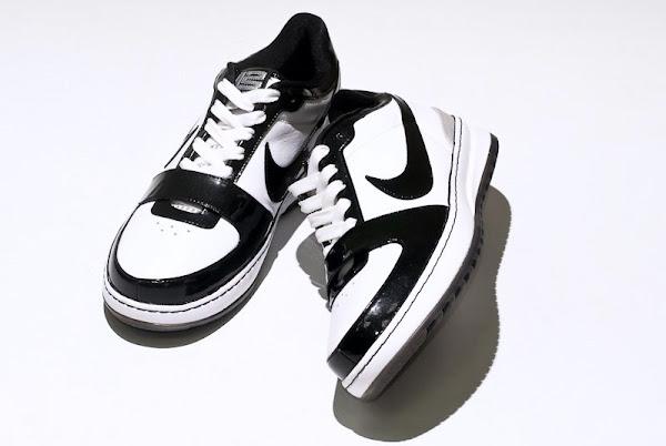 White and Black 101 Nike Zoom LeBron VI Low Sample Photos