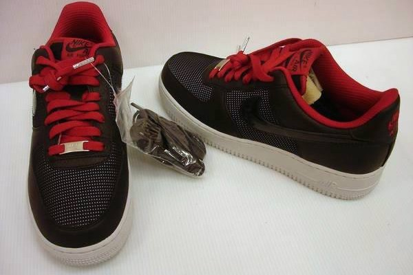 Nike AF1 Ohio State University Sample and Its GR Counterpart