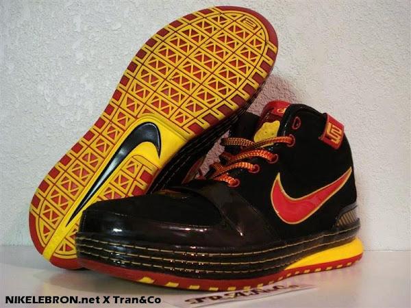 Nike Zoom LeBron VI Fairfax Away Edition Player Exclusive