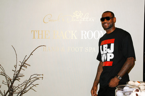 Rihanna Joins Up With LeBron For a Big Spa Opening in NYC