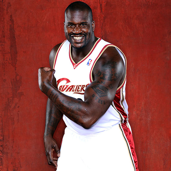 Shaq in Cleveland 8211 New Motto 8220Win a Ring for the King8221