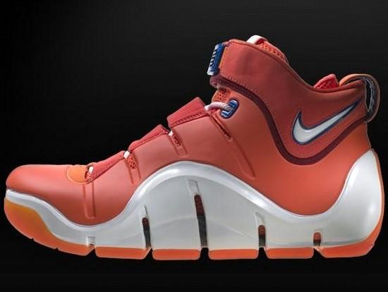 Throwback Thursday Nike Zoom LeBron IV Orange Sample