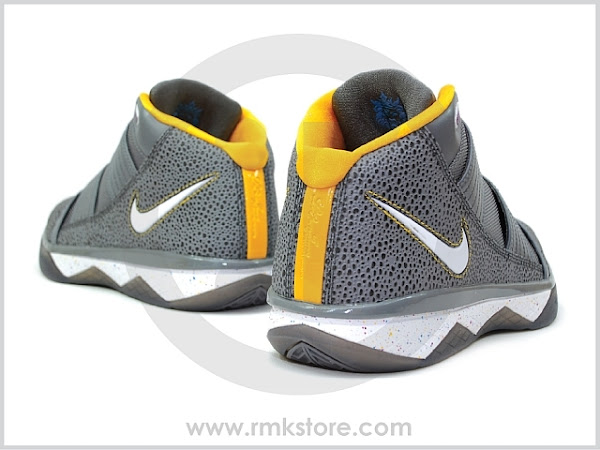 Nike Zoom Soldier III Cool Grey Reptile Safari Released