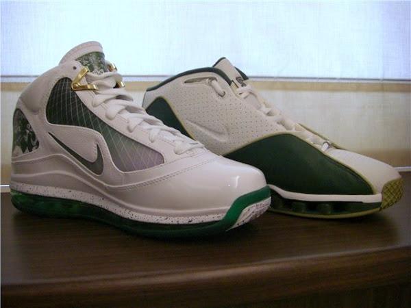 Head to Head Air Max LeBron VII vs Nike Shox VC II