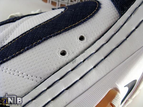Nike Zoom LeBron VI Low White  Navy  Light Brown 8220Denim8221