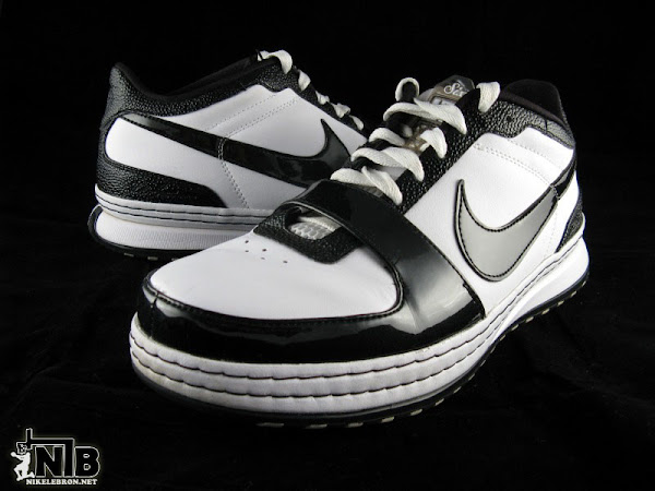 Nike Zoom LeBron VI Low White  Black Patent Leather Showcase