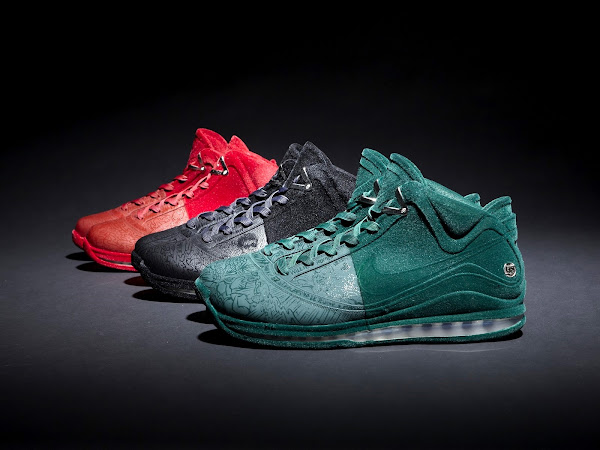 3 x Nike Air Max LeBron VII Artist Series Shenyang by Wu Yue and Stephane Ashpool