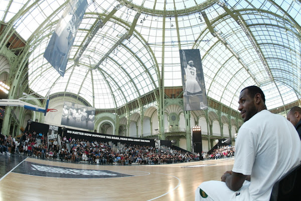 LeBron James Visits Europe More Than a Game World Tour Hits Paris