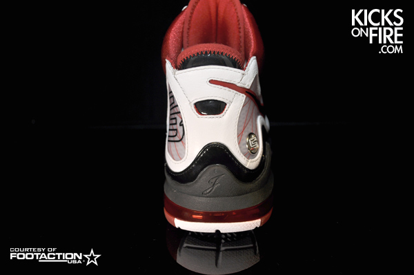 Nike Air Max LeBron VII Alternate Sample 8211 White Bottoms