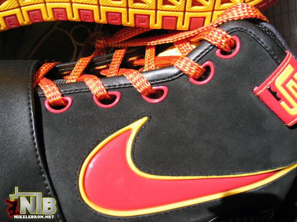 Nike Zoom LeBron 6 Fairfax 3rd Version 8211 Away Alternate Sample