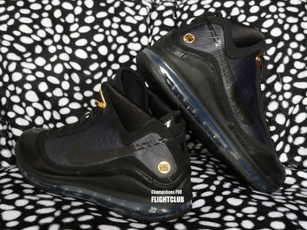BlackGold Nike Air Max LeBron VII Scheduled to Drop in December