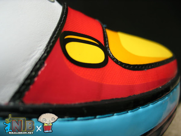 NLBnet Exclusive Zoom LeBron VI 8220Stewie8221 from the Family Guy
