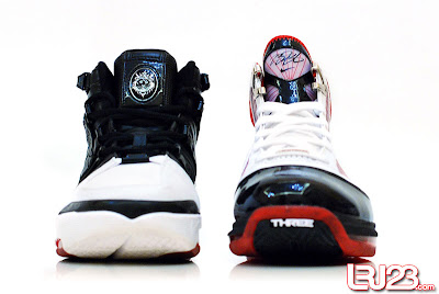 nike air max lebron 7 gr black red white 12 front3 1 2 3 4 5 6 7: Nike LeBron Series Round Up / Comparison