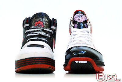 nike air max lebron 7 gr black red white 12 front7 1 2 3 4 5 6 7: Nike LeBron Series Round Up / Comparison