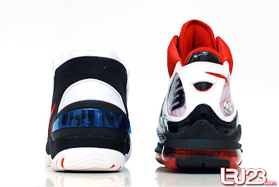 nike air max lebron 7 gr black red white 12 back1 1 2 3 4 5 6 7: Nike LeBron Series Round Up / Comparison