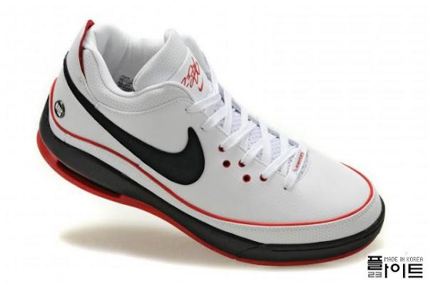 Nike Air Max LeBron VII Low WhiteBlackRed amp WhiteGum