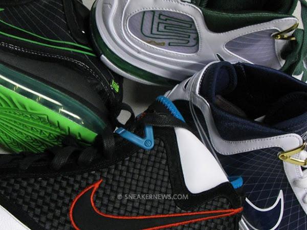 Nike Max LeBron VII Samples Heat  Jason Petrie Interview