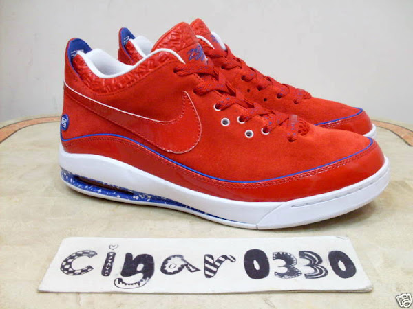 Sport RedRoyalWhite Sample Version of Air Max LeBron VII Low