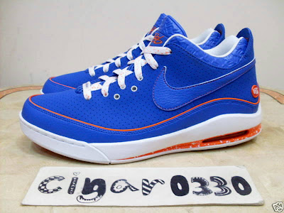nike air max lebron 7 low gr white royal orange 1 01 Nike Air Max LeBron VII Low New York City Sample Colorway