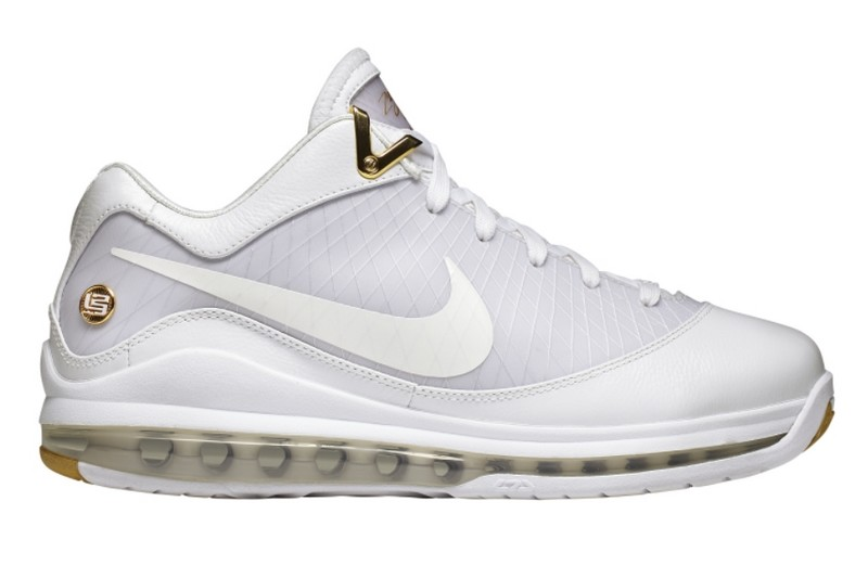 Release Reminder Air Max LeBron VII Low WhiteMetallic Gold ...