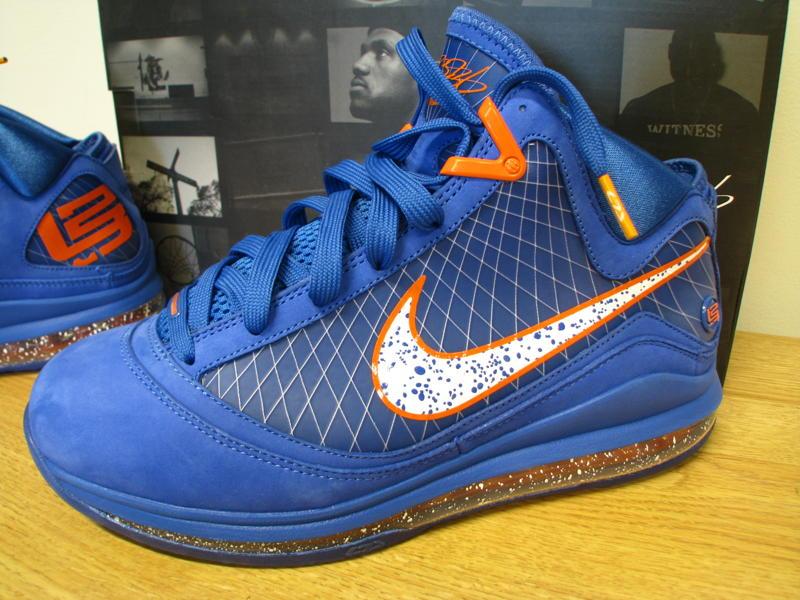 PE Spotlight  Nike Air Max LeBron VII Hardwood Classic Alternate ... 2943223c8