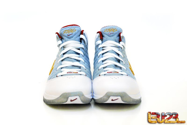 Unreleased Nike LeBron VII PS NFW MVP PE 8211 Detailed Look