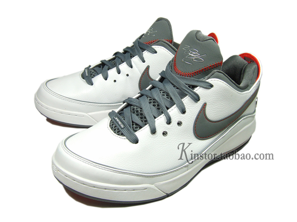 Nike LeBron VII Low 395717103 WhiteCool GreyTeam Orange