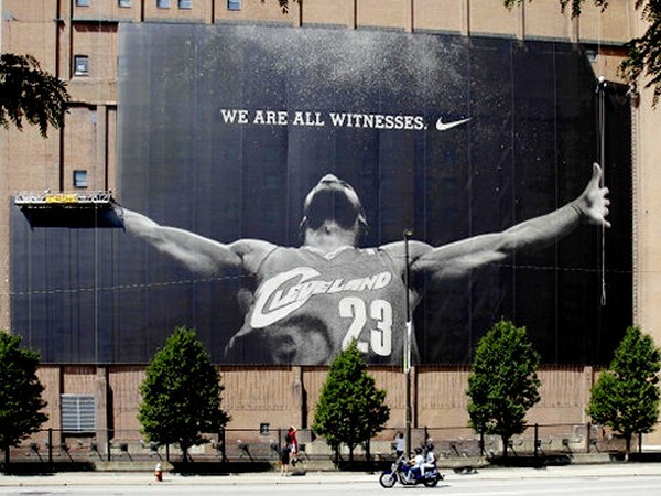 We Are All Witnesses is No More 8211 LeBron8217s Mural Taken Down