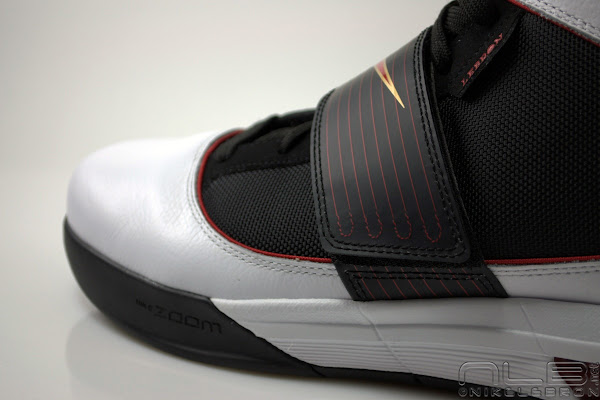LeBron8217s Nike Zoom Soldier IV 4 Black White Red Showcase