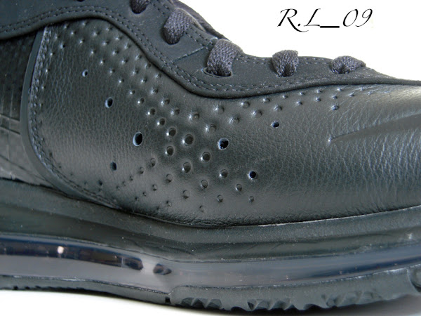 Detailed Look at the Nike Air Max LeBron VII 8 Triple Black