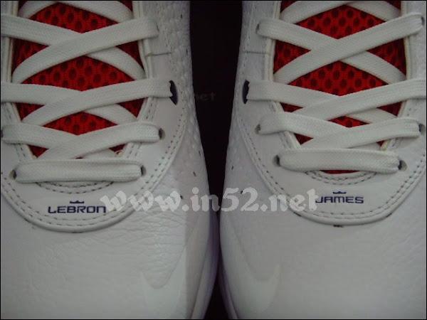 Nike LeBron VIII 417098100 WhiteNavyRed Coming on 1124