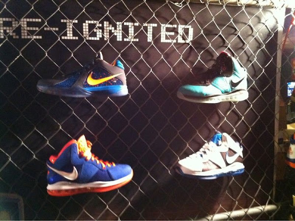 LeBron 8 Cavs HWC  New York Knicks amp WhiteBlackBlue