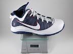lebron7 ps white navy red gram Weightionary