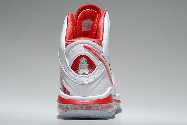 Nike LeBron 8 WhiteSport Red China Exclusive Colorway