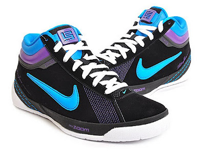 nike zoom lbj ambassador 2 gr aqua purple 2 01 Nike Zoom LBJ Ambassador II Summit Lake Hornets Detailed Pics