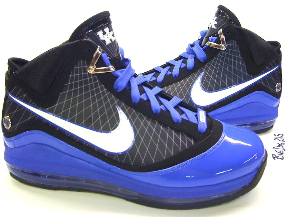 Nike Air Max LeBron VII 7 Kentucky Wildcats Player Exclusive ...