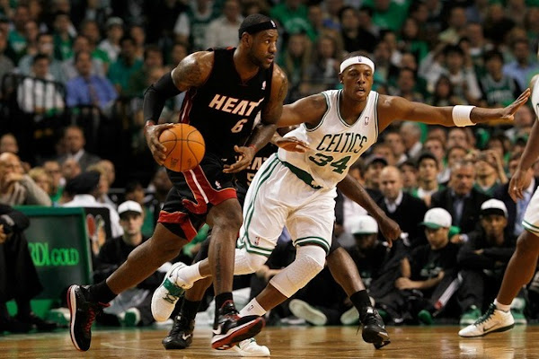 Miami8217s Big Three Stuggles in Opener LBJ Debuts Nike LeBron 8
